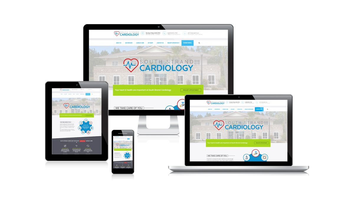 New Website for South Strand Cardiology